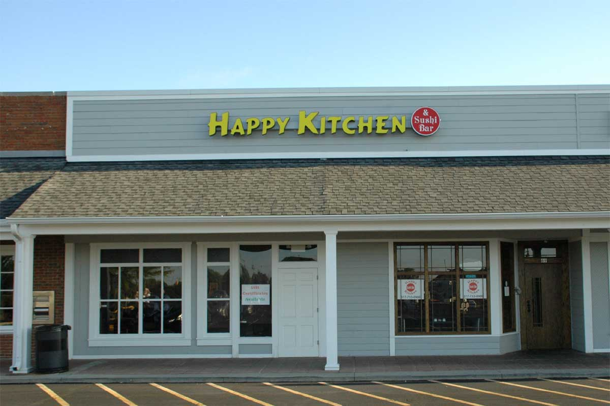 Zionsville Restaurants: Happy Kitchen & Sushi Bar (opens in new window)