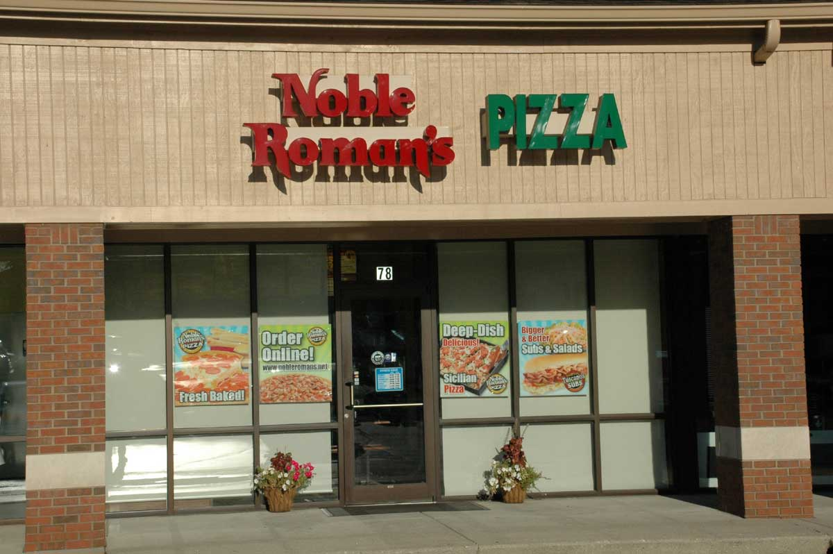 Zionsville Restaurants: Noble Roman's Pizza and Tuscano's Subs (opens in new window)