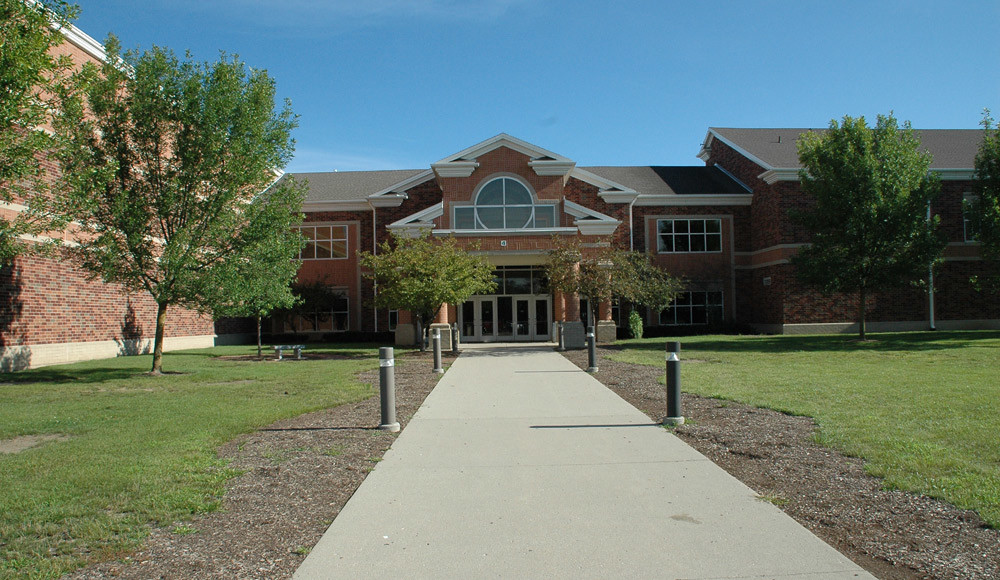 Zionsville Middle School Entrance