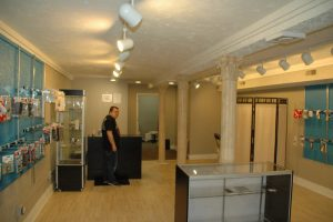 Custom Kraze Phone Repair & Accessories Store Interior