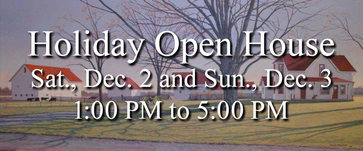 Holiday Open House at Maplelawn Farmstead
