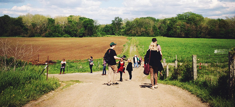 Self-Guided Farm Walk at Traders Point Creamery