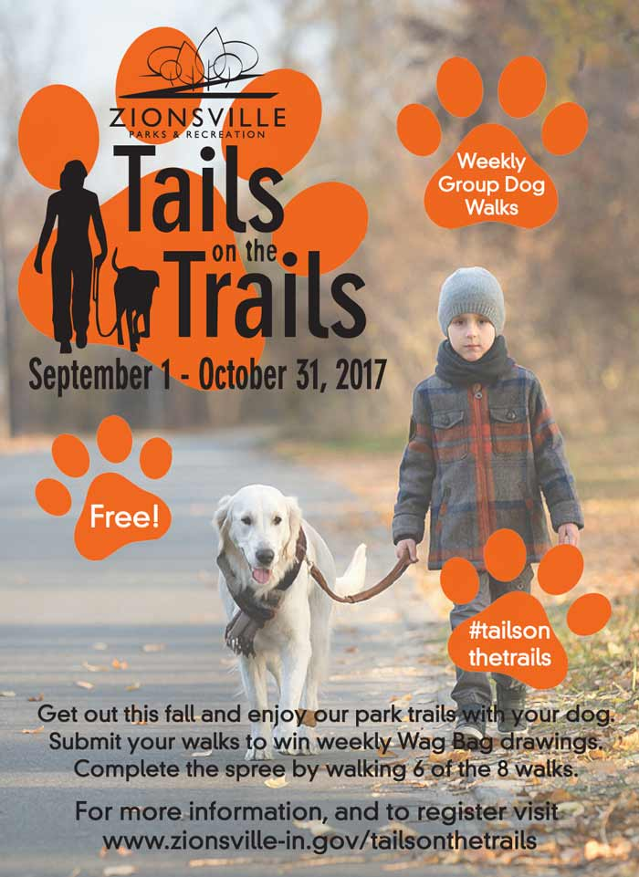 Tails on the Trails runs September 1 - October 31