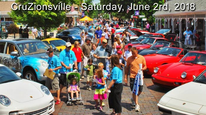 7th Annual CruZionsville Charity Event on Main Street