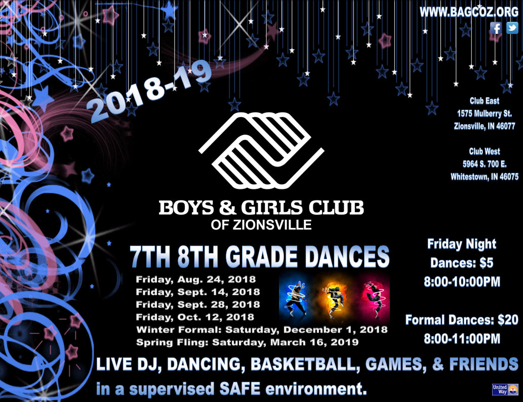 Mother & Son Dance at Boys & Girls Club of Zionsville