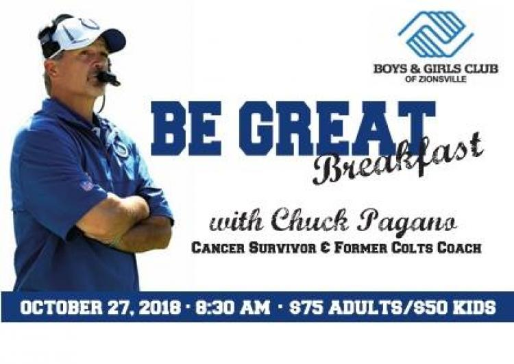 Be GREAT Breakfast hosted by Boys & Girls Club of Zionsville
