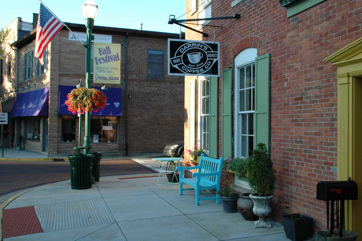 Zionsville Restaurants: Darrin's Coffee Co. (opens in new window)