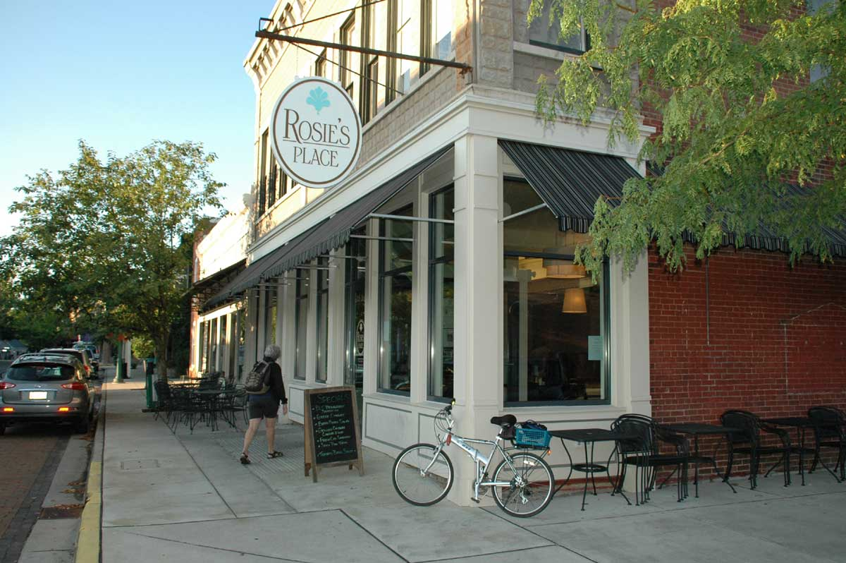 Zionsville Restaurants: Rosie's Place (opens in new window)