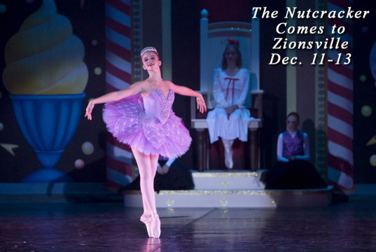 The Nutcracker by the Central Indiana Dance Ensemble at the Zionsville Center for the Performing Arts