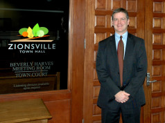 Zionsville's Mayor Tim Haak