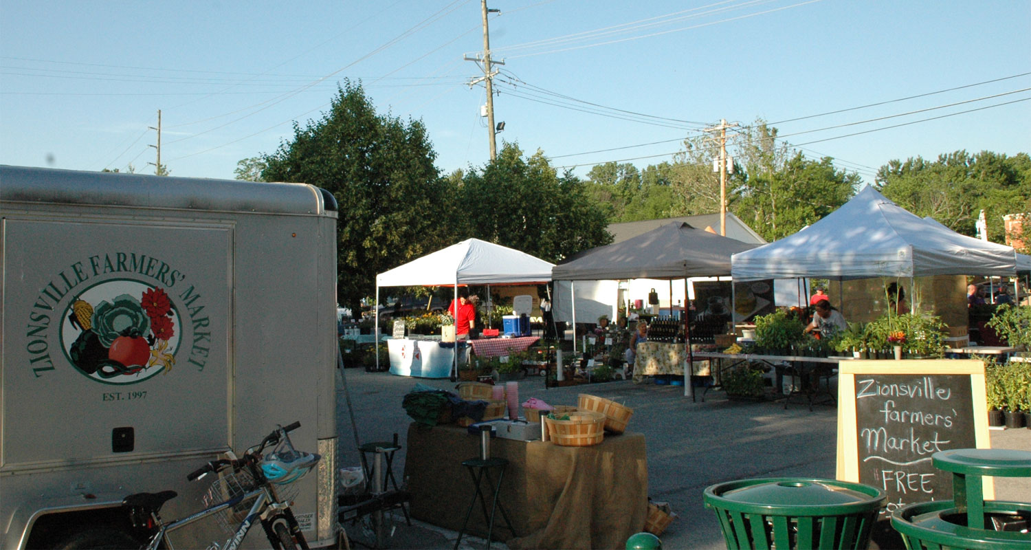 Zionsville Events: Weekly Farmers' Market