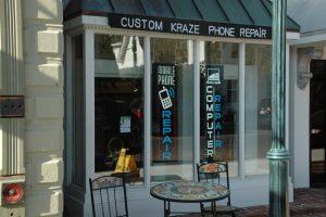 Custom Kraze Mobile Phone and Computer Repair Storefront