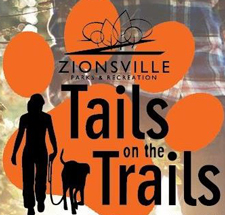 Tails on the Trails exploring Zionsville Parks!