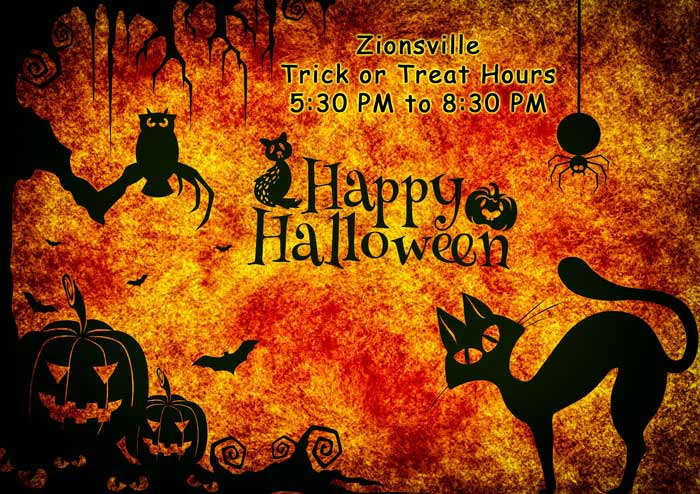 Halloween Hours in Zionsville