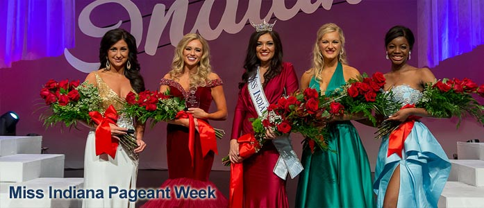 Miss Indiana Pageant Week