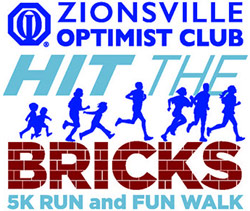 Zionsville Optimist Club Hit the Bricks 5K