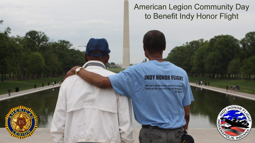American Legion Community Day to Benefit Indy Honor Flight at American Legion Post 79