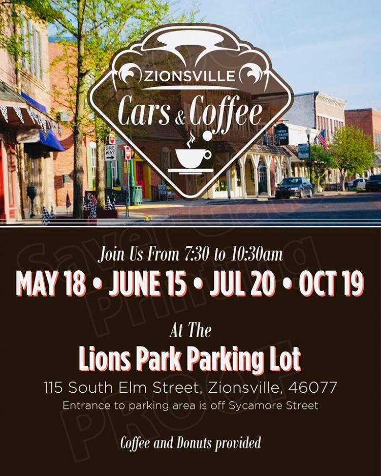 Cars & Coffee at Lions Park