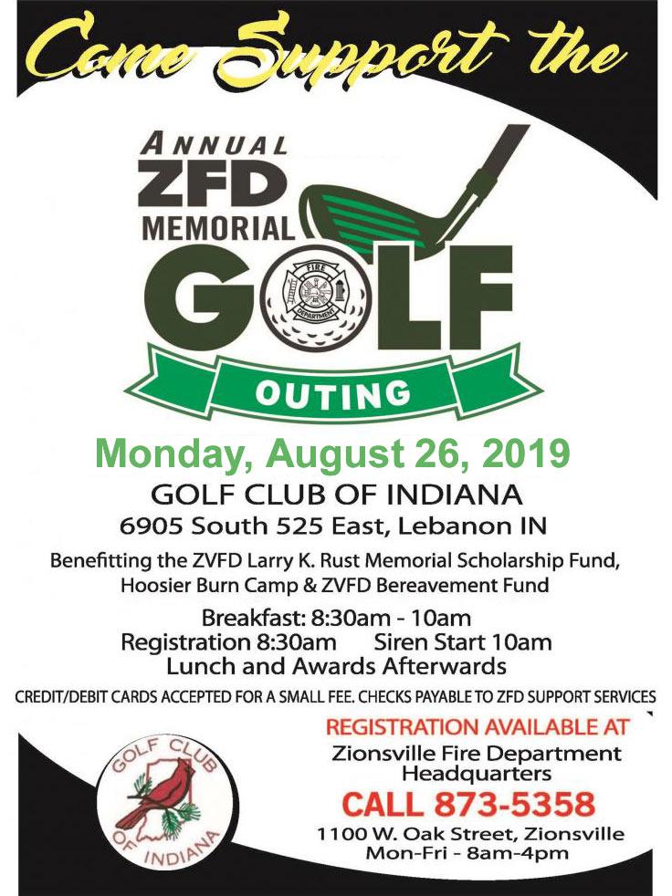 10th Annual ZFD Memorial Golf Outing