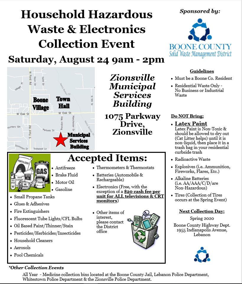 Household Hazardous Waste & Electronics Collection