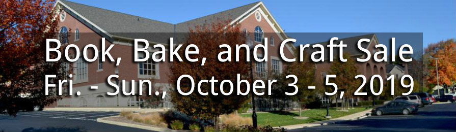 Friends of the Library Book, Bake, and Craft Sale at the Zionsville Library