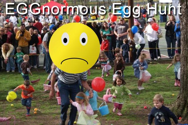 EGGnormous Easter Egg Hunt in Lions Park