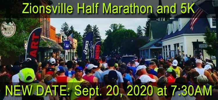 Zionsville Half Marathon & 5K Run/Walk