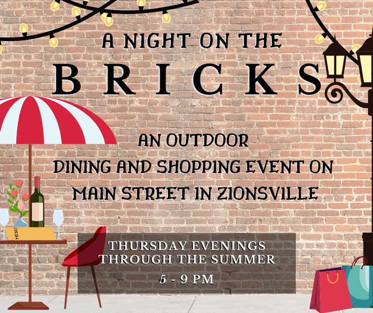 Night on the Bricks: Thursday Nights in Downtown Zionsville