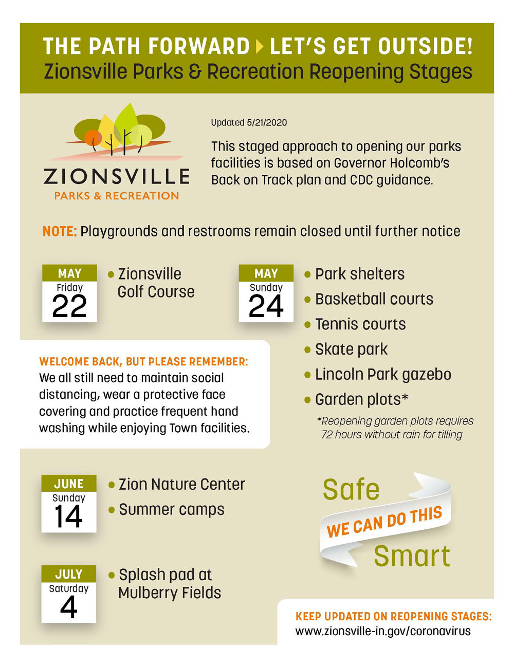 Be a Good Neighbor in Zionsville Parks & Zion Nature Center