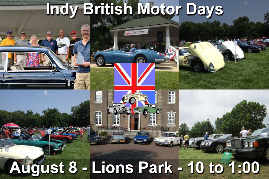 Indy British Motor Days Featuring MG