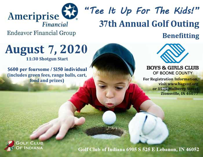 Tee It Up For The Kids! Golf Outing Fundraiser