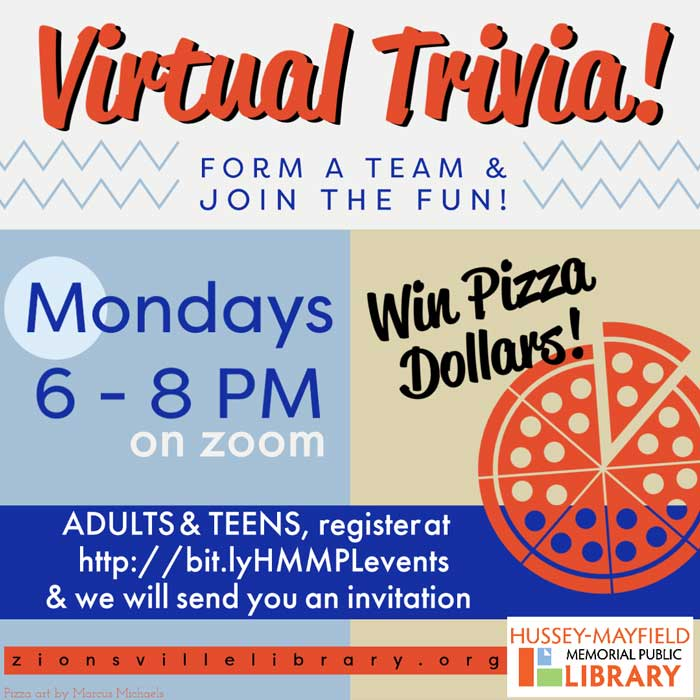 Zionsville Library Virtual Trivia Night